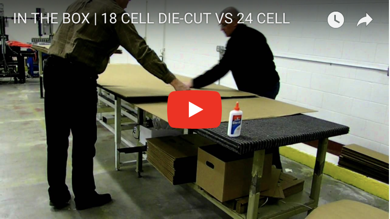 IN THE BOX | 18 CELL DIE-CUT VS 24 CELL