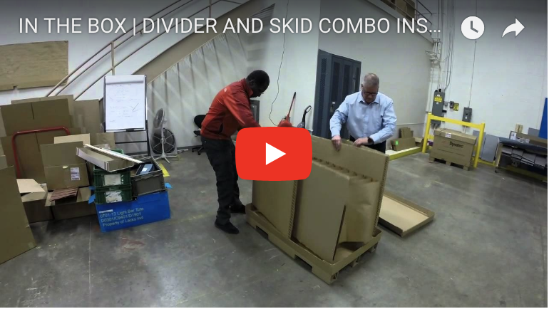 IN THE BOX | DIVIDER AND SKID COMBO INSTALLATION