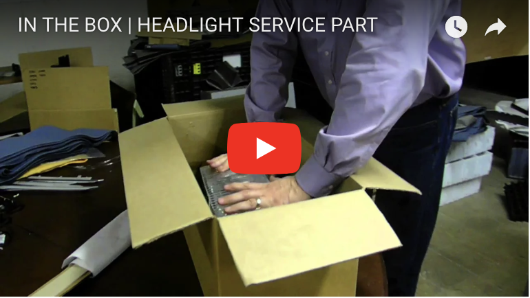 IN THE BOX | HEADLIGHT SERVICE PART
