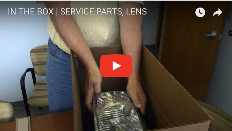 IN THE BOX | SERVICE PARTS, LENS