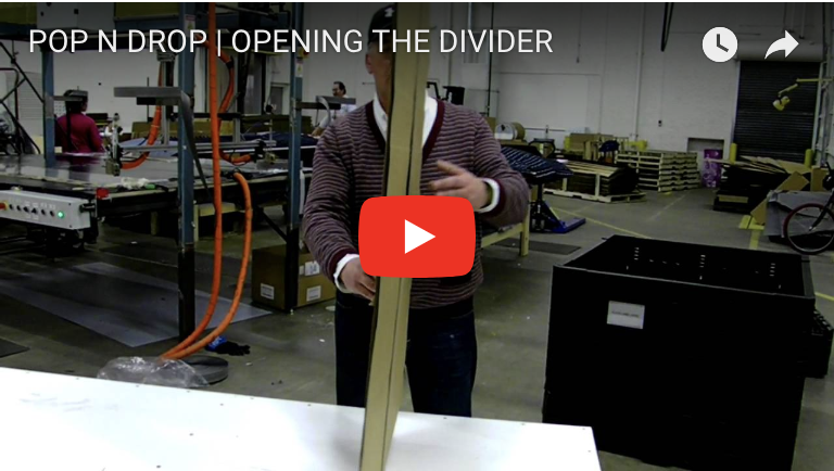 POP N DROP | OPENING THE DIVIDER