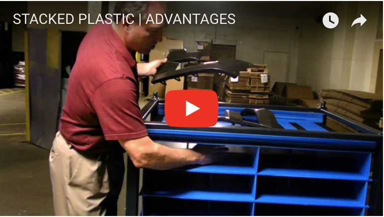 STACKED PLASTIC | ADVANTAGES