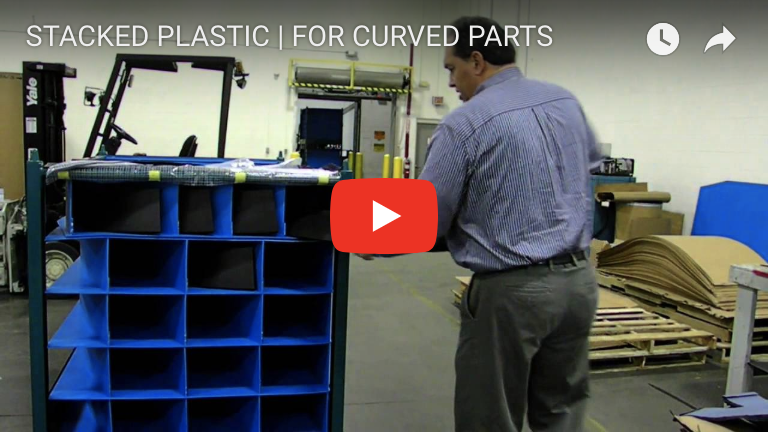 STACKED PLASTIC | FOR CURVED PARTS